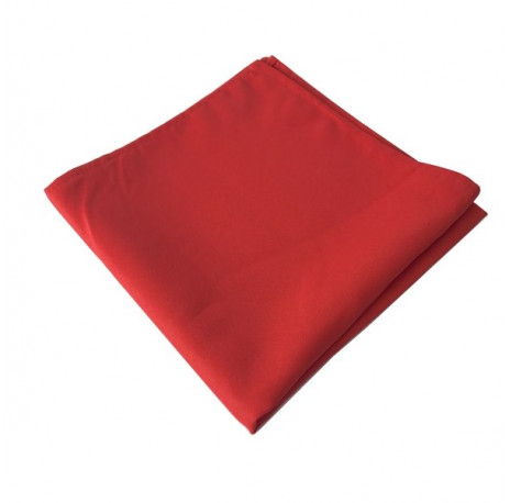 serviette de table rouge 50 x 50 cm