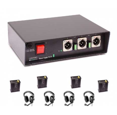 kit intercom filaire ps711 3 directions tecpro